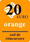 reincarcare electronica online ORANGE DIRECT 20E